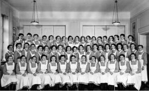 Nurses in Lund 1942